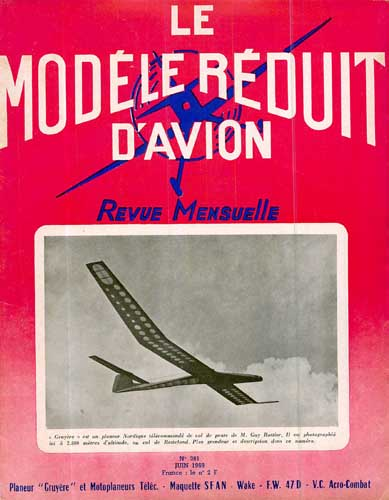 Le Modèle Réduit d'Avion 1969/06 June - cover thumbnail