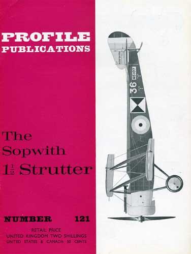 Profile Publications No. 121: Sopwith 1 1/2 Strutter (RCL#2414)