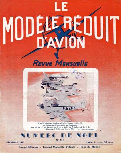 Le Modèle Réduit d'Avion 1952/12 December (RCL#2417)
