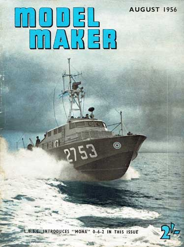 Model Maker 1956/08 August - cover thumbnail