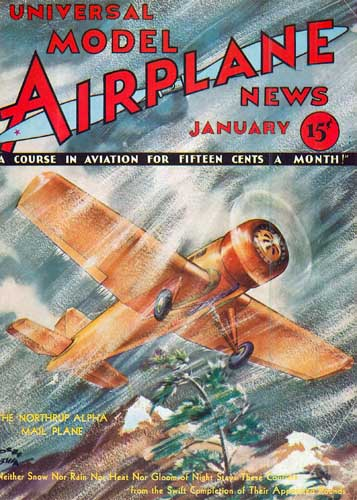 Model Airplane News 1933/01 January (RCL#2425)