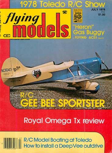 Flying Models 1978/07 July - cover thumbnail