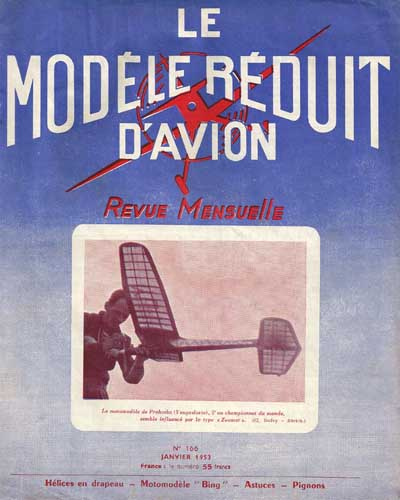 Le Modèle Réduit d'Avion 1953/01 January (RCL#2434)