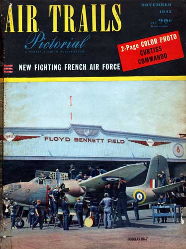 Air Trails 1942/11 November - cover thumbnail