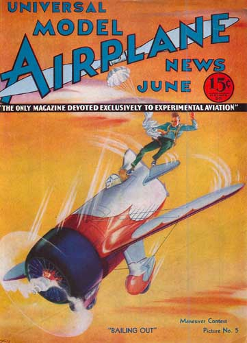 Model Airplane News 1933/06 June - click to view RCLibrary page