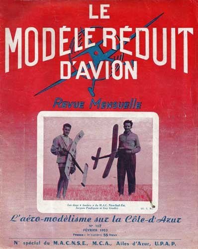 Le Modèle Réduit d'Avion 1953/02 February (RCL#2454)