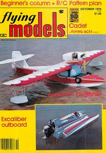 Flying Models 1978/10 October - cover thumbnail