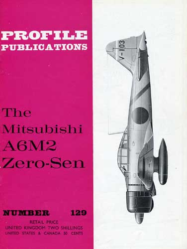 Profile Publications No. 129: Mitsubishi A6M2 Zero-Sen - cover thumbnail
