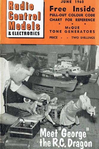 Radio Control Models & Electronics 1960/06 June - cover thumbnail