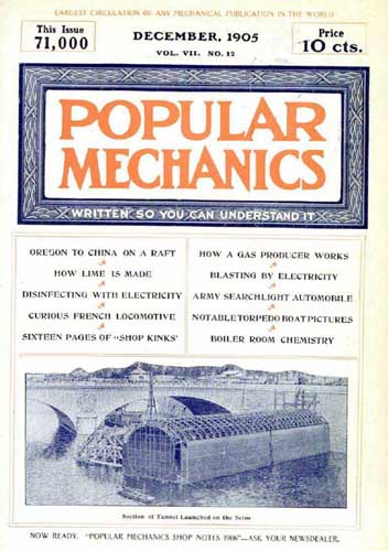 Popular Mechanics 1905/12 December - cover thumbnail