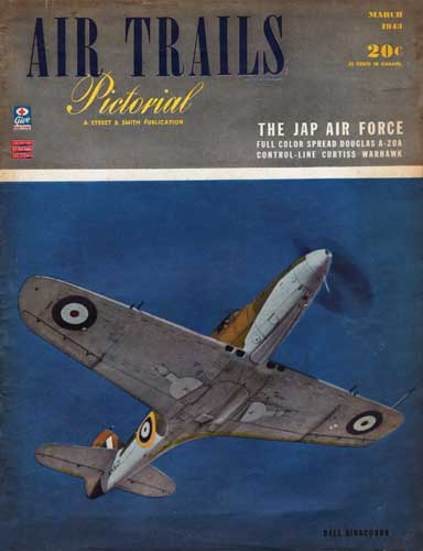 Air Trails 1943/03 March - cover thumbnail