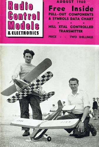 Radio Control Models & Electronics 1960/08 August - cover thumbnail