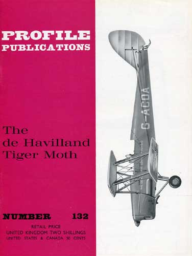 Profile Publications No. 132: de Havilland Tiger Moth