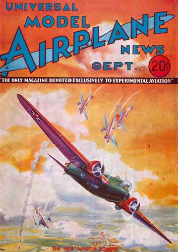 Model Airplane News 1933/09 September - cover thumbnail