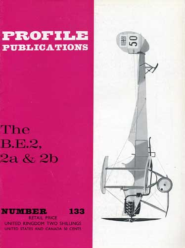 Profile Publications No. 133: B.E.2, 2a & 2b - cover thumbnail