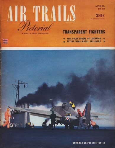 Air Trails 1943/04 April - cover thumbnail