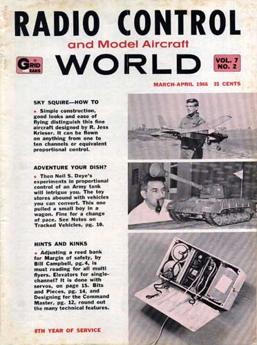 Grid Leaks - Radio Control World 1966/03 March-April (RCL#2513)