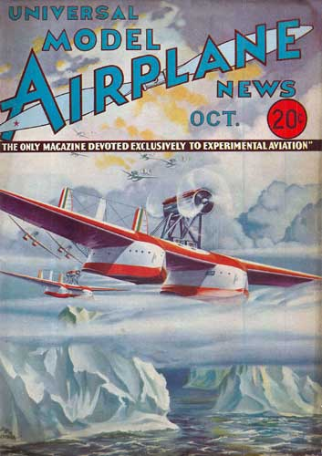 Model Airplane News 1933/10 October - cover thumbnail