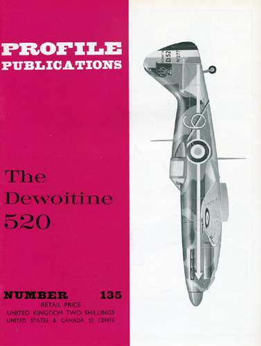 Profile Publications No. 135: Dewoitine 520 (RCL#2518)