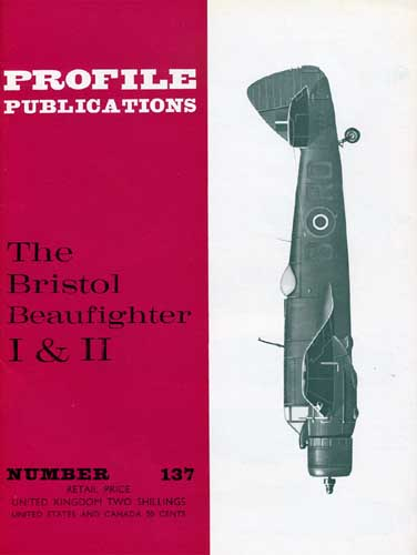 Profile Publications No. 137: Bristol Beaufighter I & II (RCL#2532)