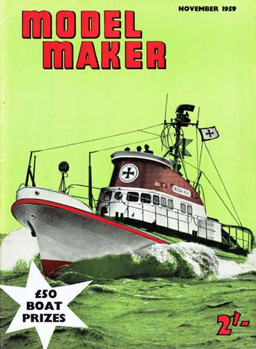 Model Maker 1959/11 November - cover thumbnail