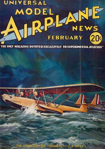 Model Airplane News 1934/02 February (RCL#2542)