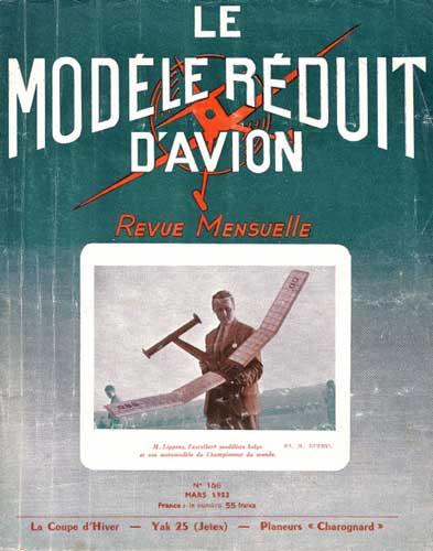 Le Modèle Réduit d'Avion 1953/03 March - cover thumbnail