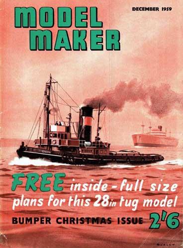 Model Maker 1959/12 December (RCL#2551)