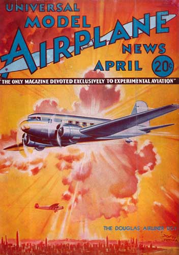 Model Airplane News 1934/04 April - cover thumbnail