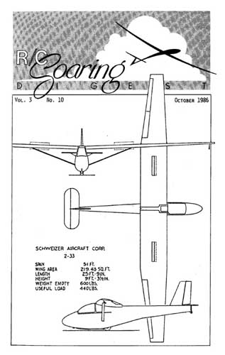RC Soaring Digest 1986/10 October - click to view RCLibrary page