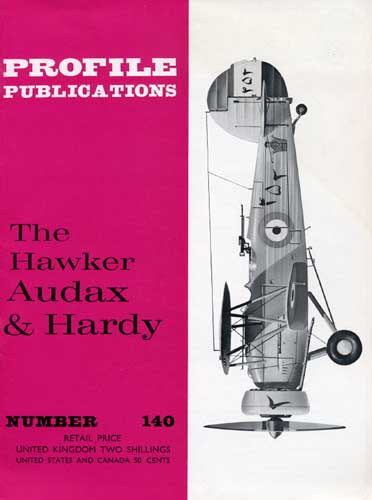 Profile Publications No. 140: Hawker Audax & Hardy (RCL#2560)