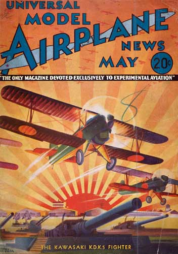 Model Airplane News 1934/05 May (RCL#2573)