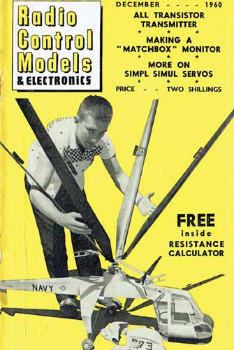Radio Control Models & Electronics 1960/12 December - cover thumbnail