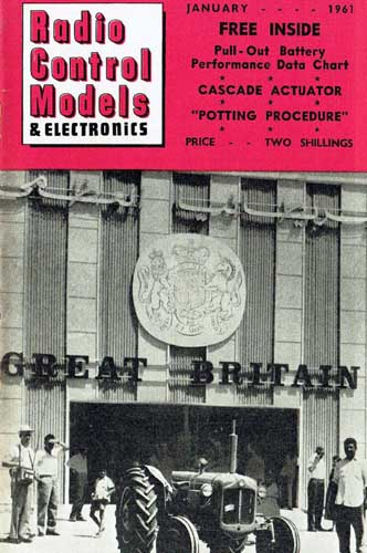 Radio Control Models & Electronics 1961/01 January - cover thumbnail