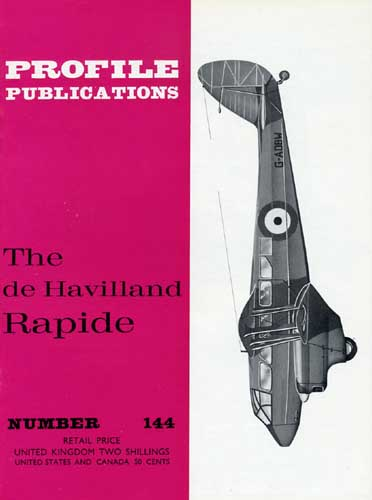 Profile Publications No. 144: de Havilland Rapide (RCL#2588)
