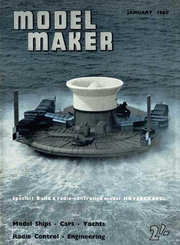 Model Maker 1960/01 January - cover thumbnail