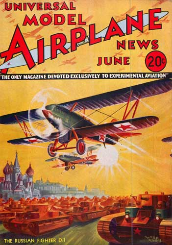 Model Airplane News 1934/06 June - cover thumbnail