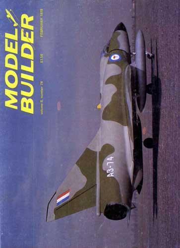 Model Builder 1978/02 February - cover thumbnail
