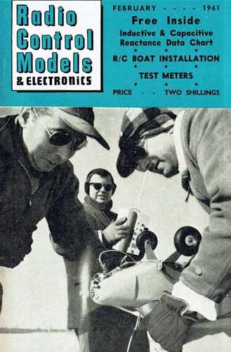 Radio Control Models & Electronics 1961/02 February - cover thumbnail