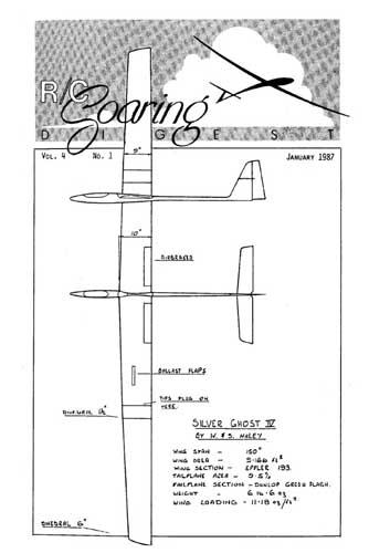 RC Soaring Digest 1987/01 January (RCL#2610)