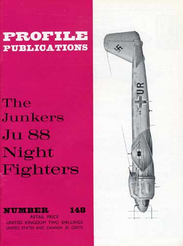 Profile Publications No. 148: Junkers Ju 88 Night Fighters (RCL#2613)