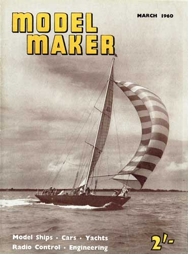 Model Maker 1960/03 March - cover thumbnail