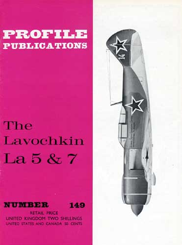 Profile Publications No. 149: Lavochkin La 5 & 7 - cover thumbnail