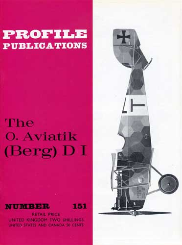 Profile Publications No. 151: O. Aviatik (Berg) D I (RCL#2627)