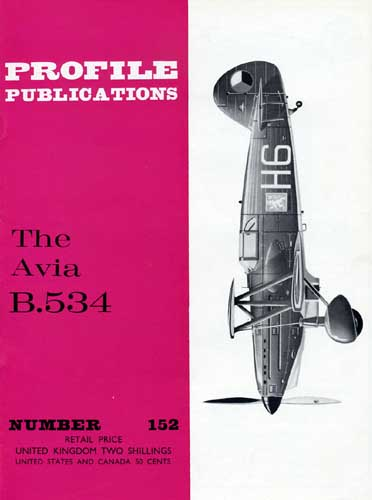 Profile Publications No. 152: Avia B.534 (RCL#2632)