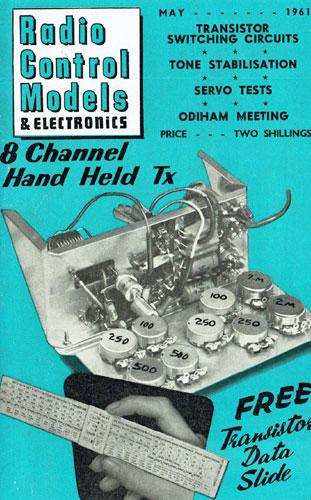 Radio Control Models & Electronics 1961/05 May - cover thumbnail