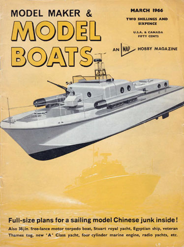 Model Maker 1966/03 March (RCL#2657)