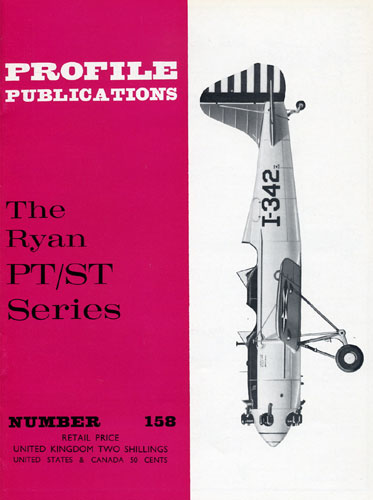 Profile Publications No. 158: Ryan PT/ST Series (RCL#2658)
