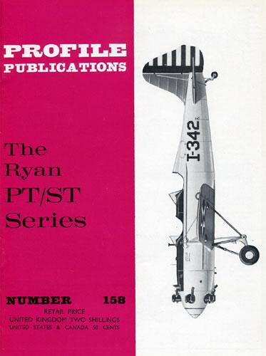 Profile Publications No. 158: Ryan PT/ST Series - cover thumbnail