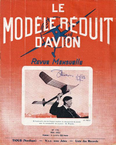 Le Modèle Réduit d'Avion 1953/05 May (RCL#2660)